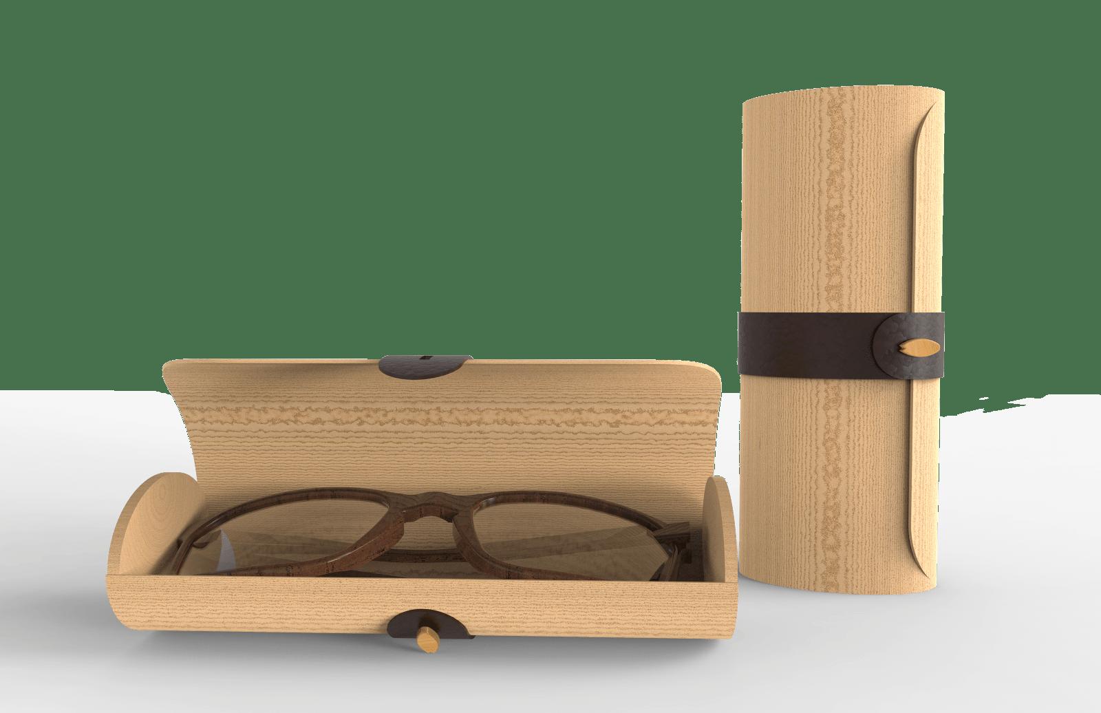 Conception d'un étui à lunettes