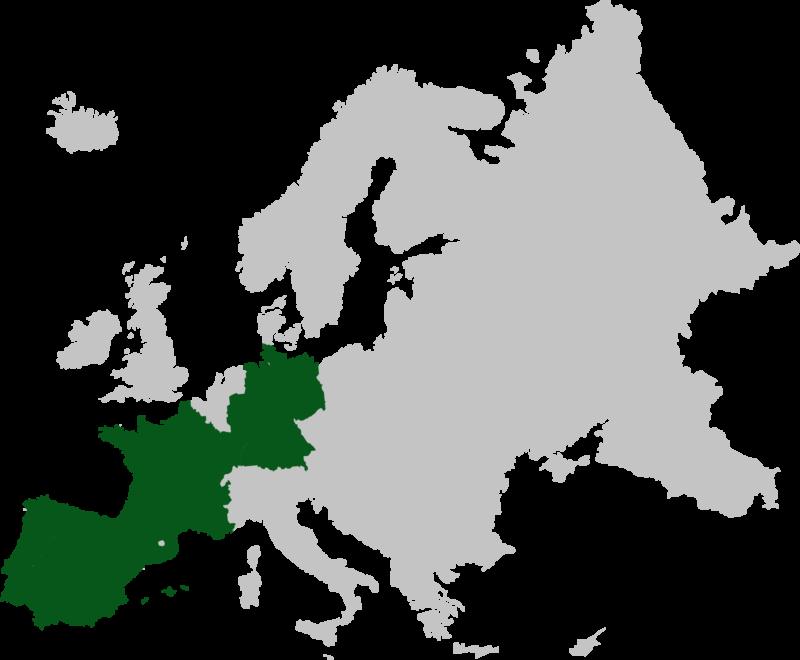 mapa internacionalización